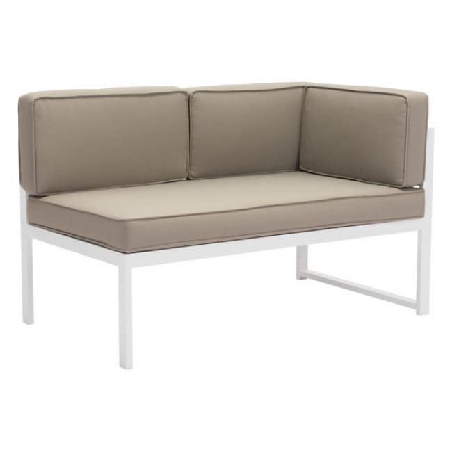 Sofa para exterior lado derecho modelo golden beach for Sofa exterior blanco