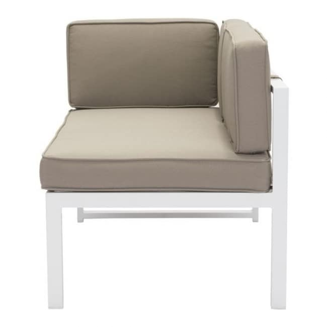 Sofa para exterior lado izquierdo modelo golden beach for Sofa exterior blanco