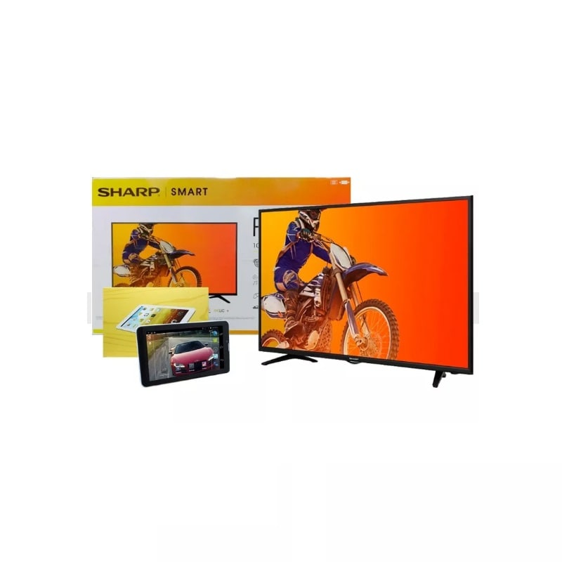 Pantalla SMART TV SHARP 43 LED FULL HD y TABLET 3G de Regalo