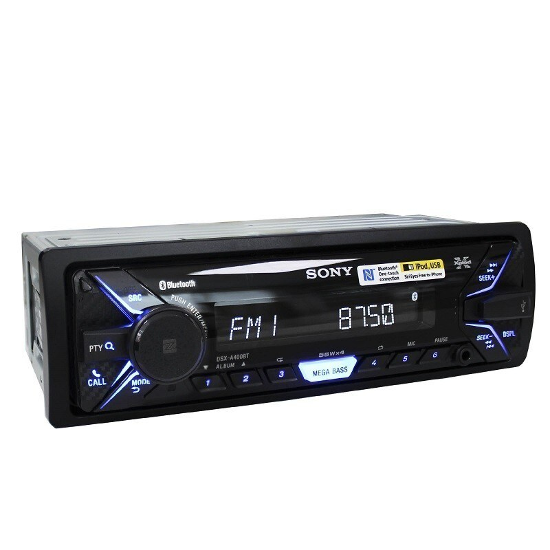 autoestereo sony dsx a400bt bluetooth usb nfc ipod. Black Bedroom Furniture Sets. Home Design Ideas