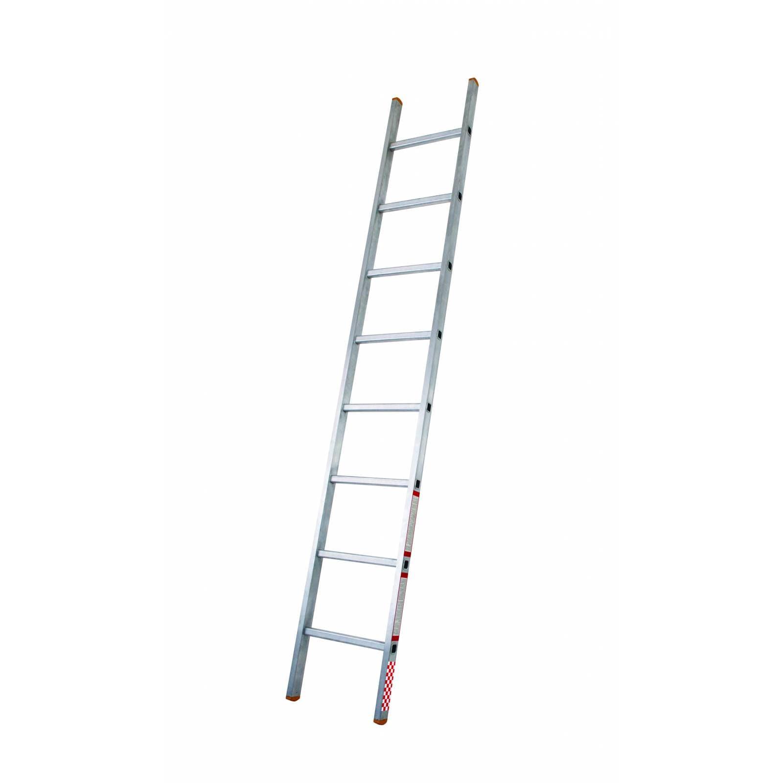 Escalera recta aluminio de 8 pelda os tipo iii 419308 for Escaleras 8 peldanos